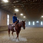 A KYSS member enjoying a ride at our October clinic.